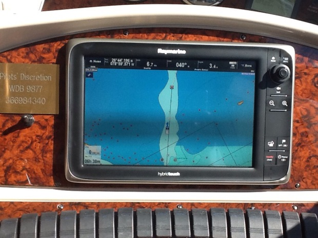 Navionics Vectar Chart Entering Double Breasted Cay