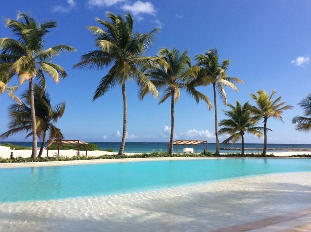 Pool at Cap Cana Marina, DR