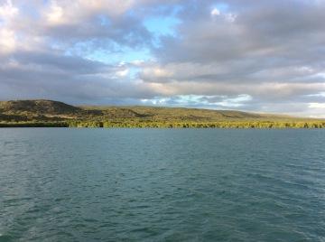 Anchored off Cayos de Cana Gorda (a.k.a. Gilligan's Island), Puerto Rico