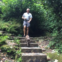 Randy & Patton, El Yunque Rain Forest, Puerto Rico