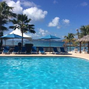 Nanny Cay Marina pool, Tortola, B.V.I.