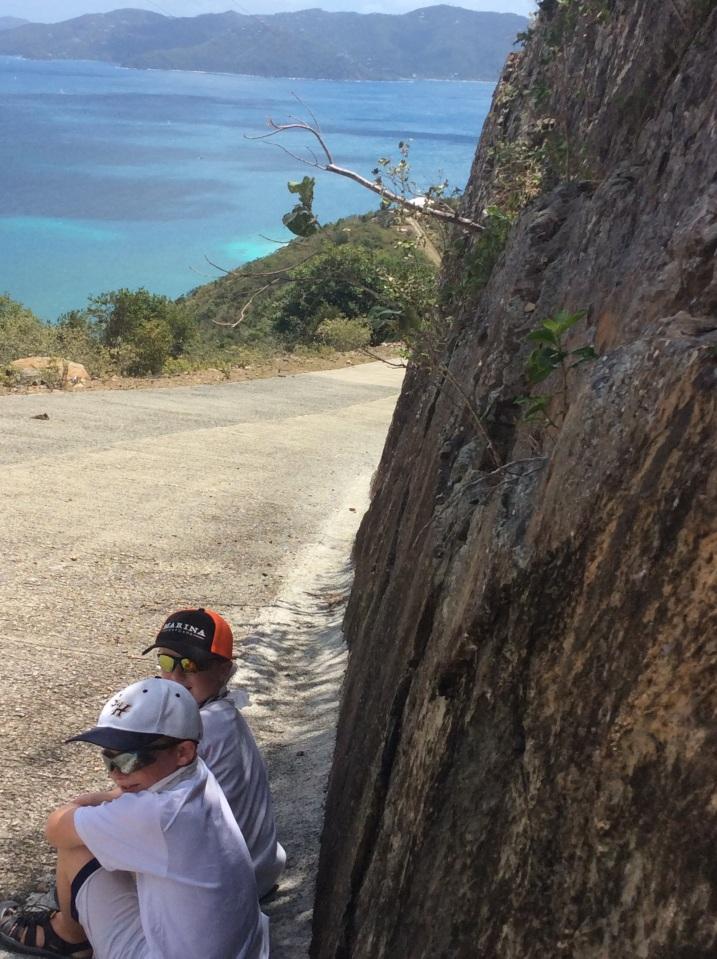 R&R, Jost Van Dyke hike, BVI