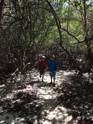 Jost Van Dyke (hike to bubbly pool)
