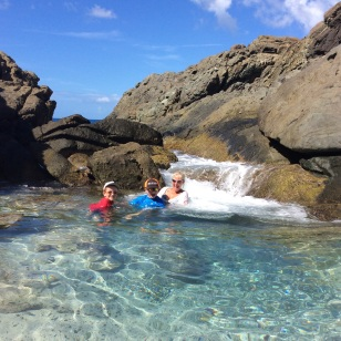 Jost Van Dyke, Bubbly Pool, BVI