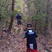 Hiking the Quill volcano trail