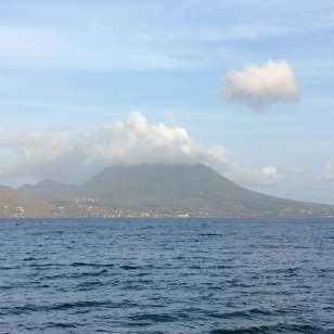 Nevis, Nuestra Señora del las Nieves (Our Lady of the Snows) dormant volcano