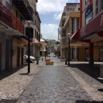 Fort de France, Martinique, Pedestrian Rue