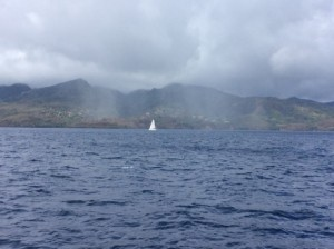 Cruising into Grenada
