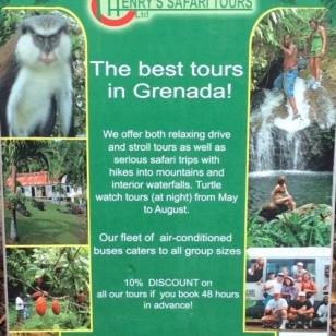Henry's Safari Tours, Grenada
