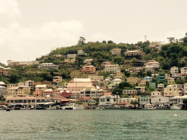 Carenage waterfront, St. Geoarges, Grenada