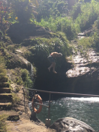 Concord Waterfalls Chuck Cliff Diving