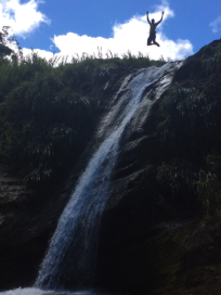 Cliff Diver, Concord Waterfalls