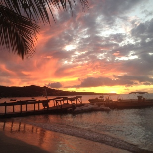 Sunset, Grand Anse Beach, Grenada