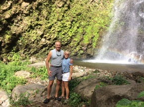 Randy & Theresa, Dark View Falls, St. Vincent