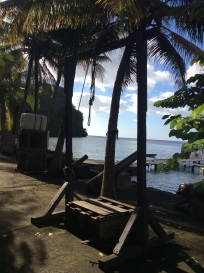 Pirates of the Caribbean Set, Wallilabou Bay, St. Vincent