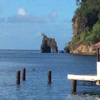 Arch, from Pirates of the Caribbean, Wallilabou Bay, St. Vincent