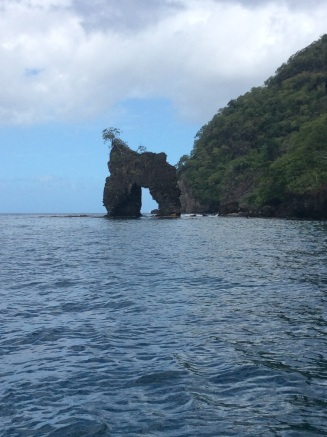 Stone Arch, from Pirates of the Caribbean, Wallilabou Bay, St. Vincent