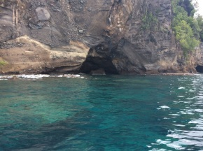 Cave at Wallilabou Bay, St. Vincent