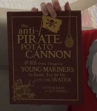 How to Build an Anti Pirate Potato Cannon!