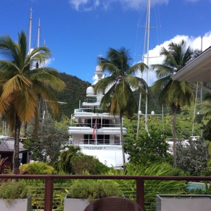 Capella Resort Marina, Marigot Bay, St. Lucia