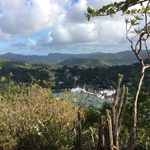 The Views Were Worth the Climb, Marigot Bay Hike, St. Lucia