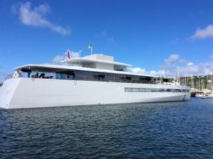 Steve Jobs's M/V Venus, Rodney Bay, St. Lucia