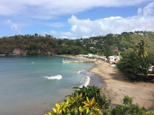 Anse de le Ray, Fishing Village, St. Lucia