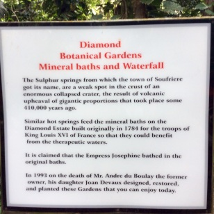 Diamond Botanical Gardens, St. Lucia