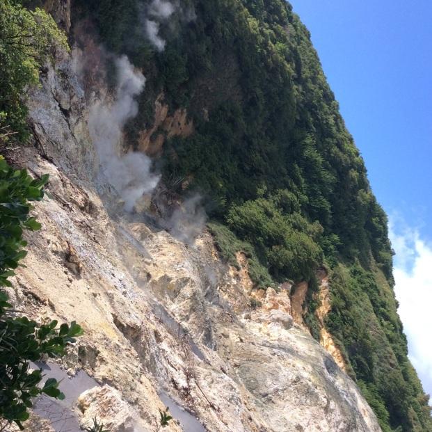 Sulphur Springs, St. Lucia