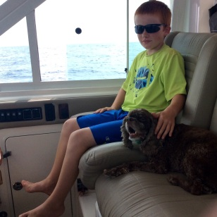 Ryan & Patton at the helm