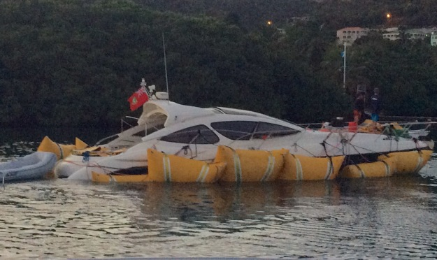 This is not how any boater wants to return to the dock