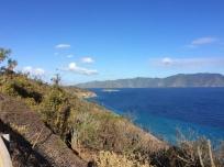 Jost Van Dyke hike, Sand Cay, BVI