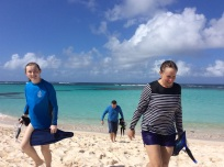 Madison, Mike & Bridget, Anegada, BVI