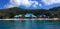 Pirates Restaurant, The Bight, Norman Island, BVI