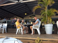 Mike, Madison & Randy, Saba Rock, BVI