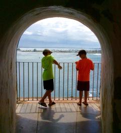 Ryan & Ronan, El Morro, Old San Juan, PR