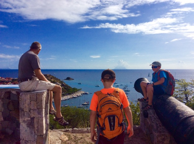 Randy, Ronan & Ryan, St. Bart
