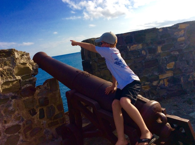 Ryan, Fort Berkeley, English Harbor, Antigua