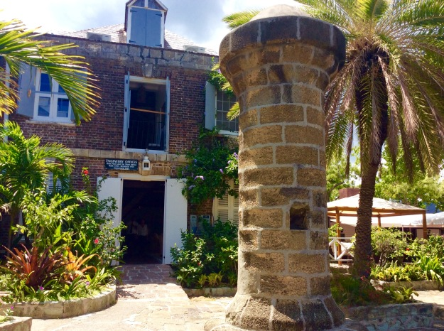 The 18th Century Pitch & Tar Store & Engineer Office / Pillar's Restaurant