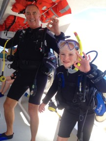 OK & ready to dive, St. Lucia