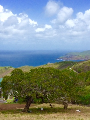 Bequia, looking south towards Union