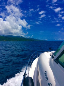 Approaching Grenada