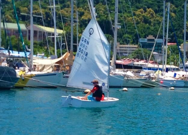 Ronan sailing