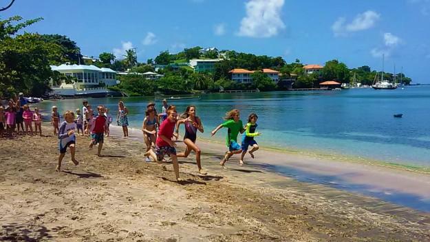 Calabash Beach Mini-Olympics