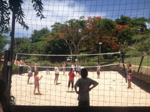 KOS volleyball, Secret Harbor, Grenada