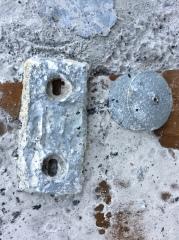 New zinc plate