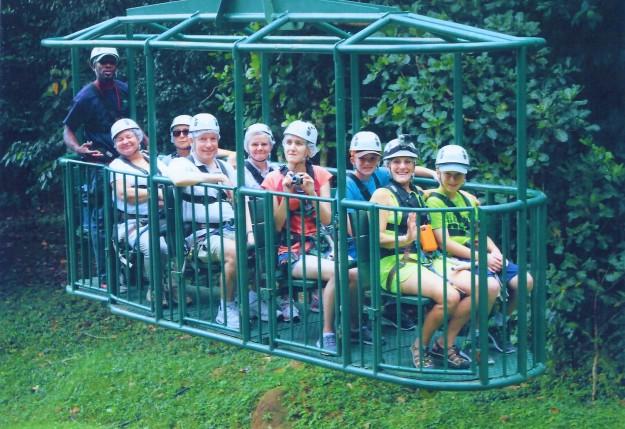 Rain Forest Adventures tram, St. Lucia