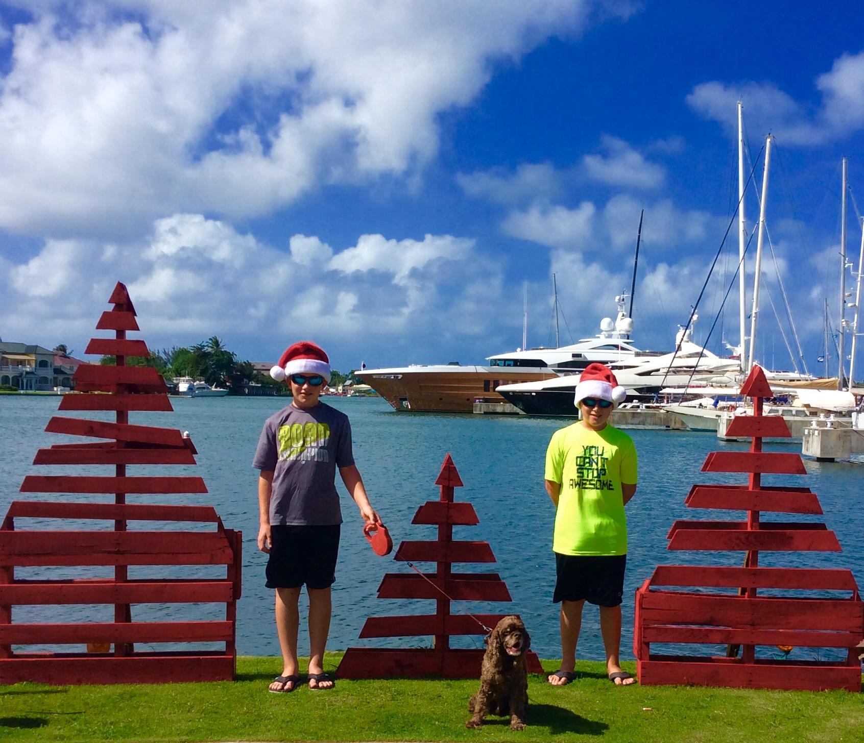 Ryan, Patton and Ronan, Rodney Bay, St. Lucia