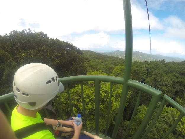 Aerial Tram, Rain Forest Adventures, St. Lucia