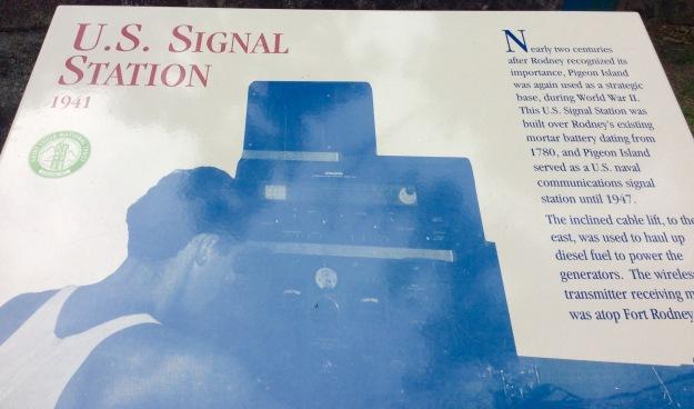 U.S. Signal Station (1941), Fort Rodney, St. Lucia